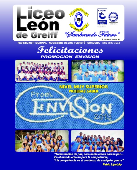 Revista Lilegrando 2013